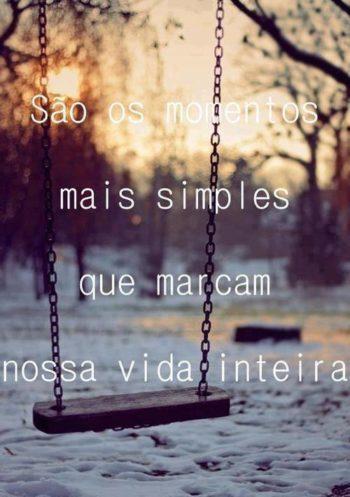 Momentos mais simples