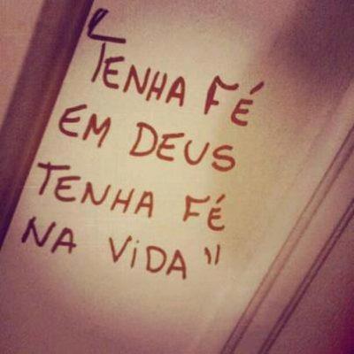 Tenha fé em Deus