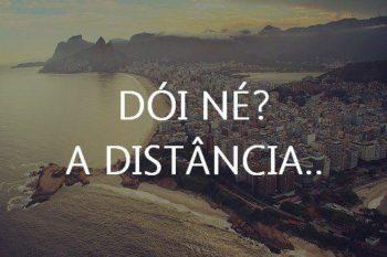 A distância