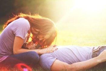 O amor entre duas pessoas