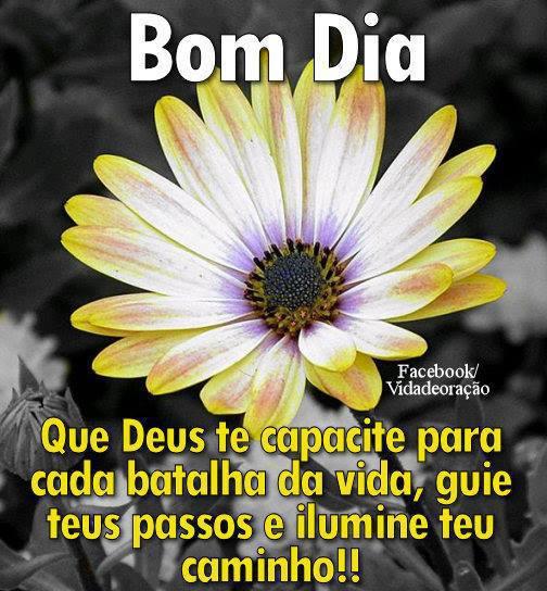 mensagem de bom dia de Deus amarelo
