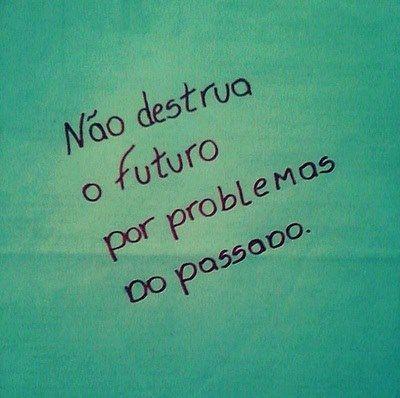 Não destrua o futuro