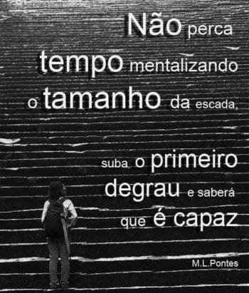Tamanho da escada