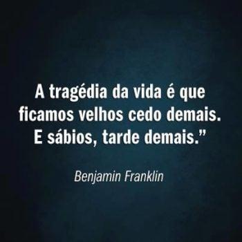 A tragédia da vida