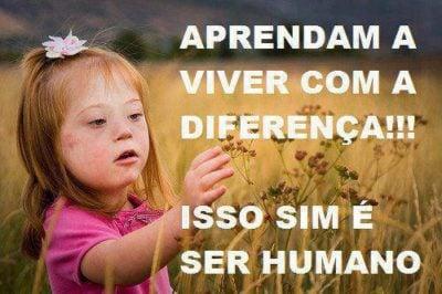 Aprendam a viver com a diferença