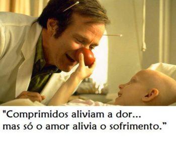 Só o amor alivia o sofrimento