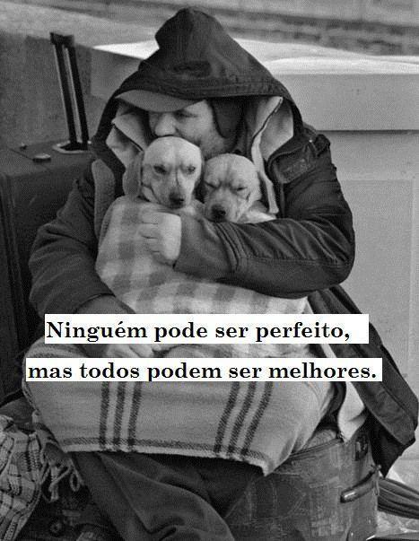 Ninguém pode ser perfeito