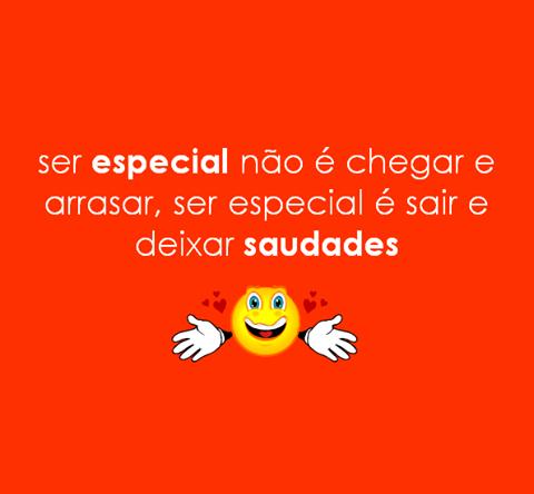 Ser especial