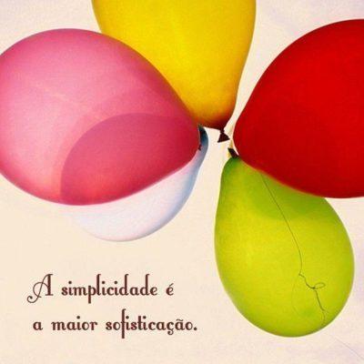 A simplicidade