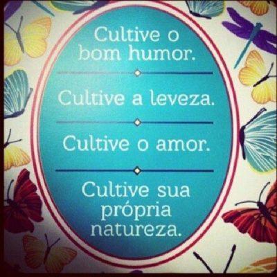 Cultive o bom humor