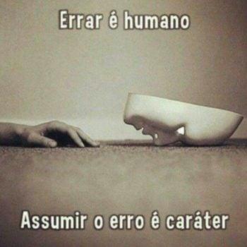 Errar é humano