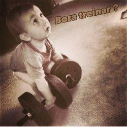 Bora treinar?