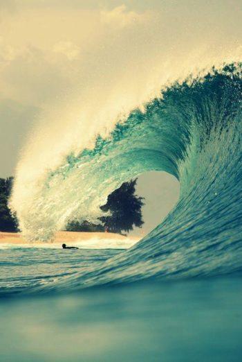 Como uma onda