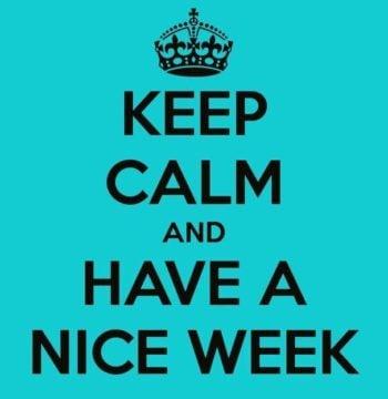 Nice week