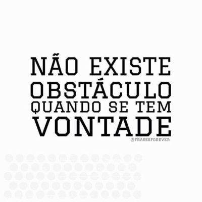 Não existe obstáculo
