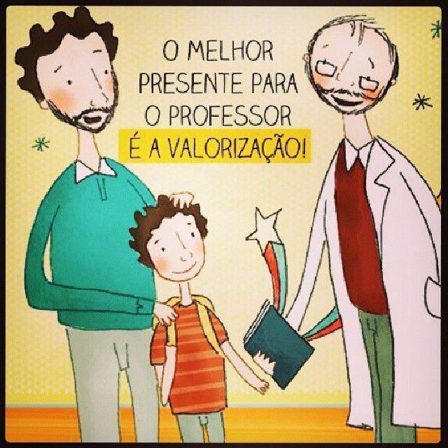 O melhor presente para o professor é a valorização!