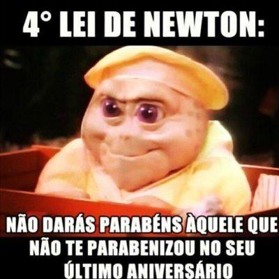 4a lei de Newton