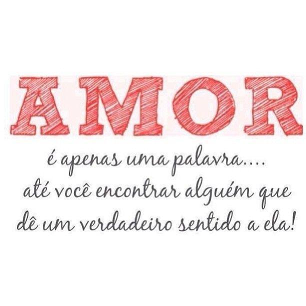 Amor é apenas uma palavra