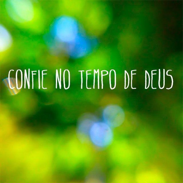 Confie No Tempo De Deus