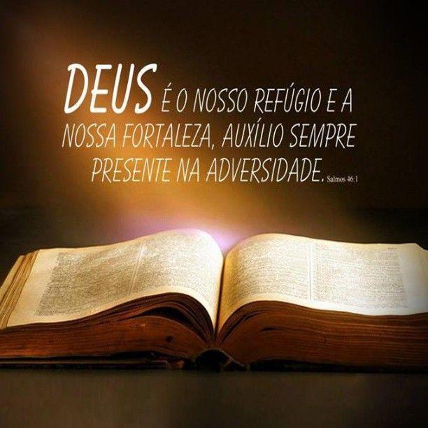 Resultado de imagem para deus é nosso refúgio e fortaleza