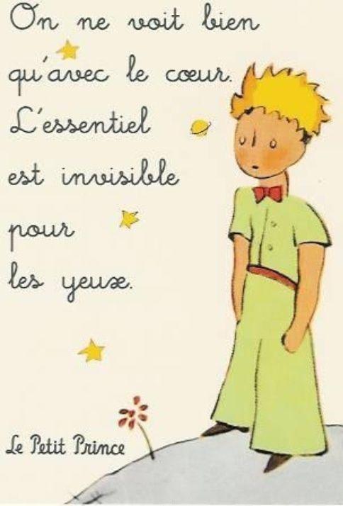 On Ne Voit Bien Quavec Le Coeur Lessentiel Est Invisible Pour Les