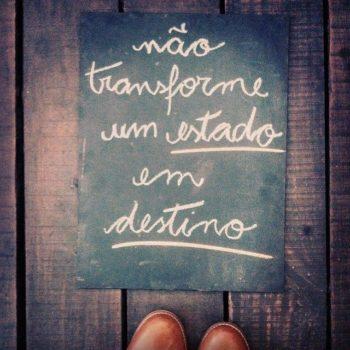Não transforme