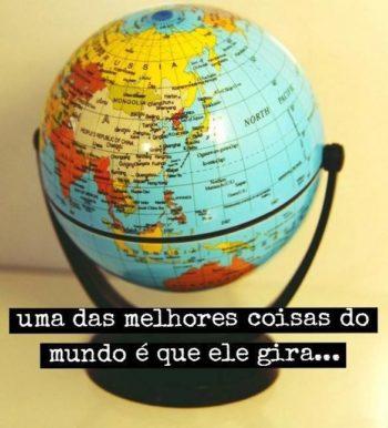 O mundo gira