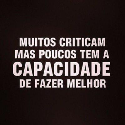 Muitos criticam