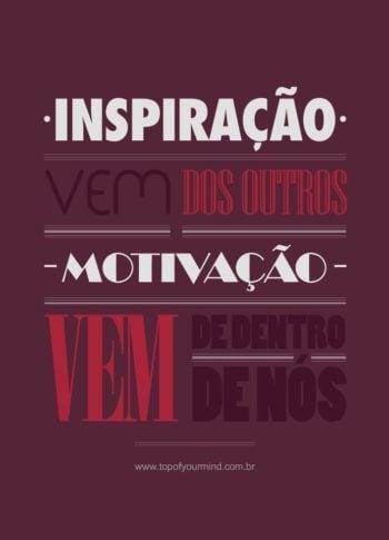 Inspiração e motivação