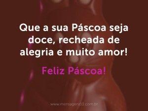 Doce Páscoa