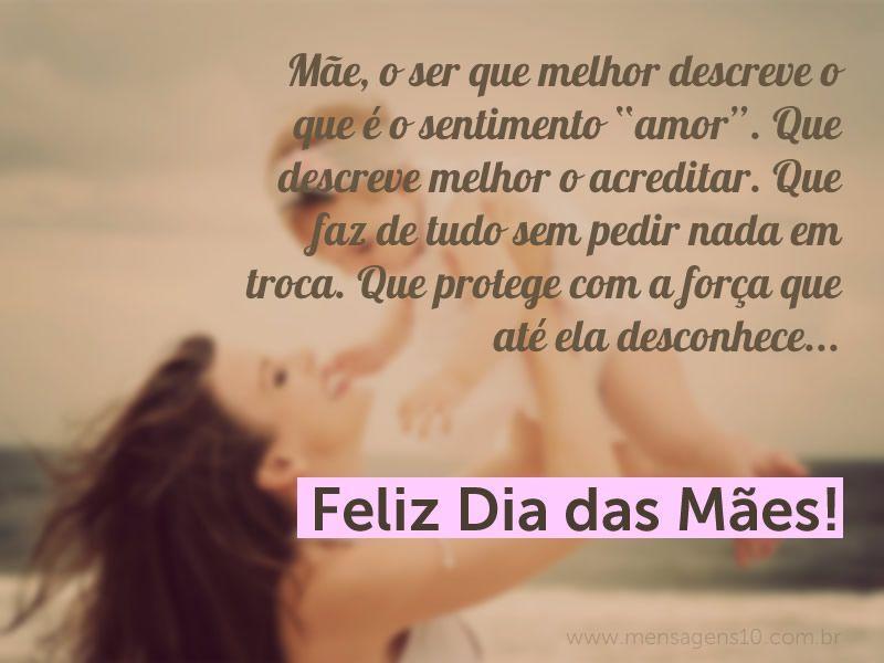 """O Incomparável Amor De Uma Mãe: Mãe, O Ser Que Melhor Descreve O Que é O Sentimento """"amor"""