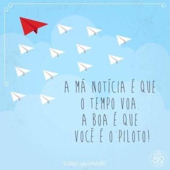 Você é o piloto