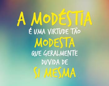 Modéstia