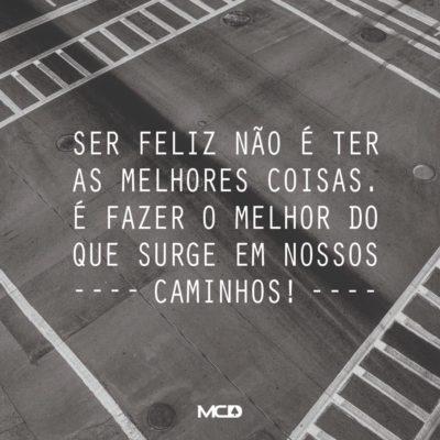 Ser feliz…
