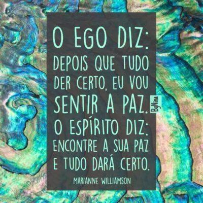 O ego diz