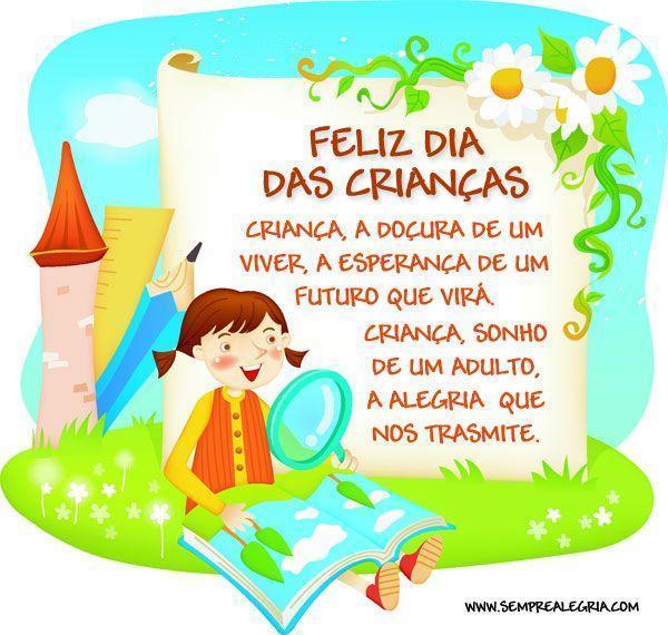 Feliz Dia Das Crianças Criança A Doçura De Um Viver A Esperança