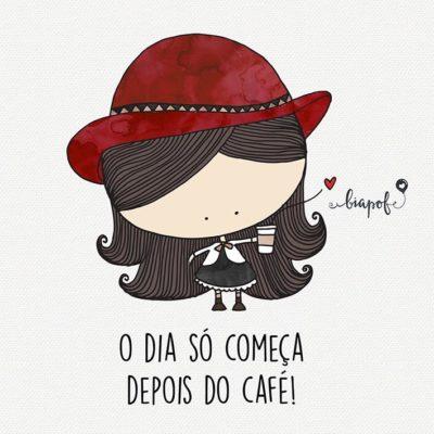 Mas antes, o café