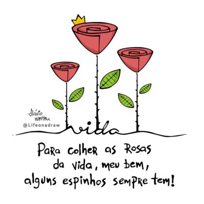 Rosas da vida