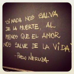 El amor nos salve