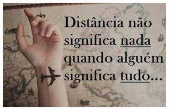 A distância não é ruim