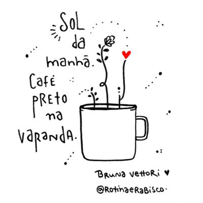 Sol e um bom café