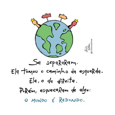O mundo é redondo