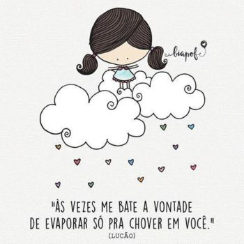 Chover em você