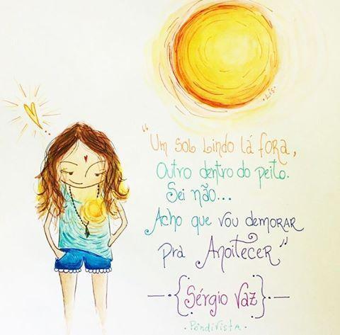 Meu coração brilha como o Sol