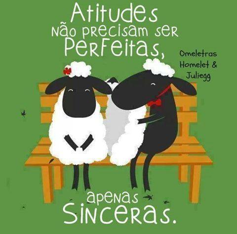 Atitudes sinceras