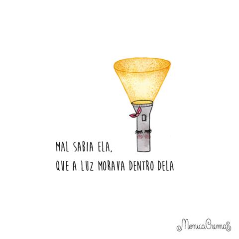 A luz mora em você