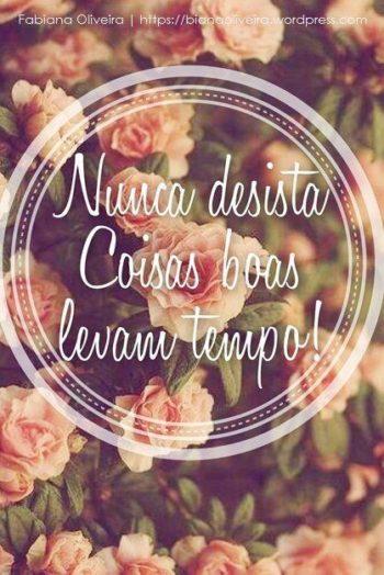 Nunca desista