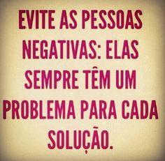 Evite as pessoas negativas