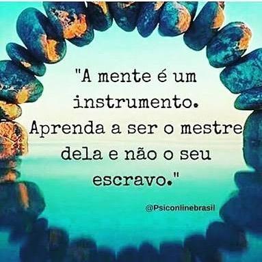 A mente é um instrumento