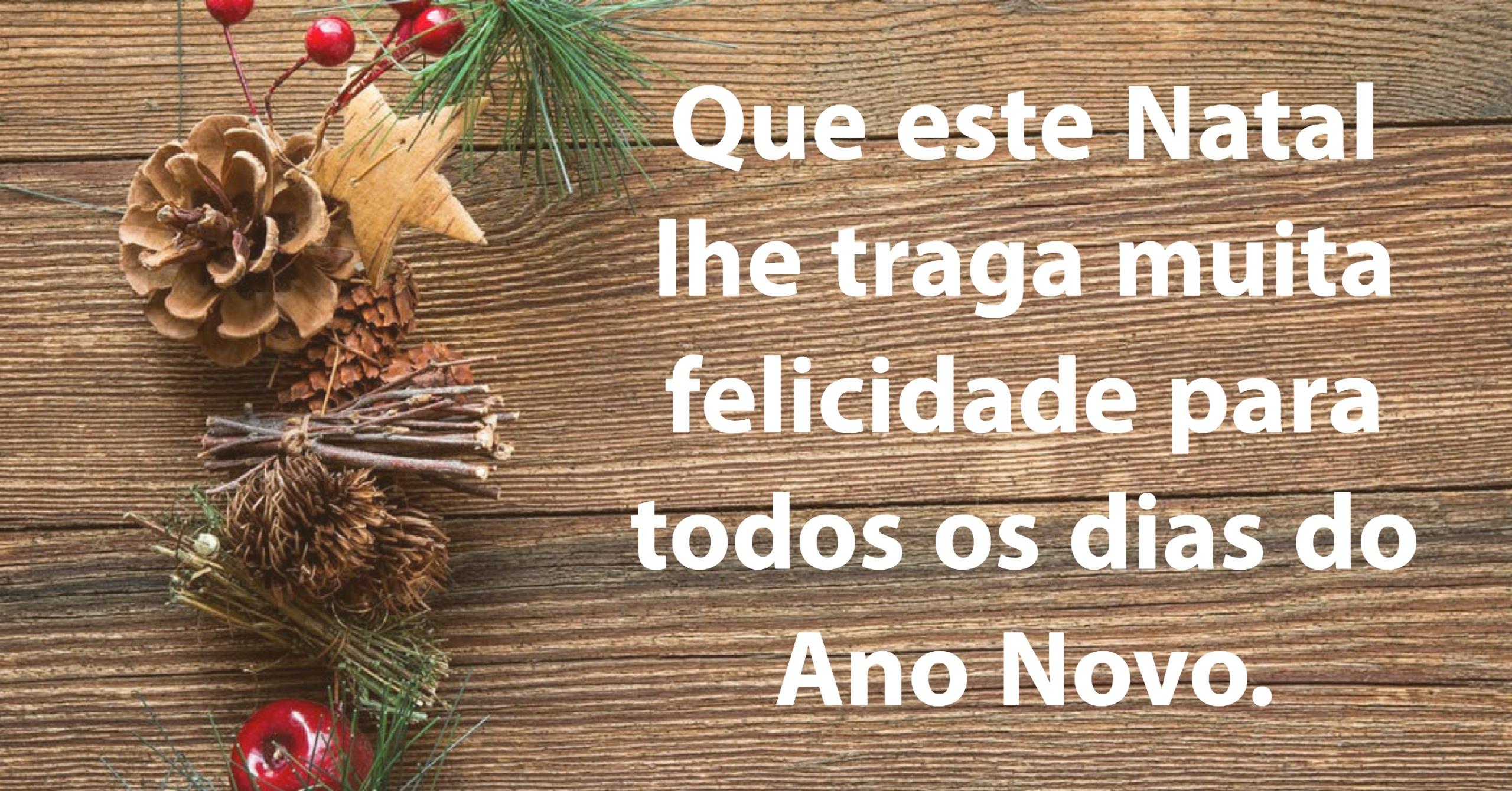 Que Este Natal Lhe Traga Muita Felicidade Para Todos Os